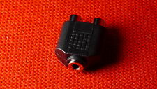headphones out stereo adapter for Panasonic camcorder HDC-SD1 AG-HSC1U SD9 etc