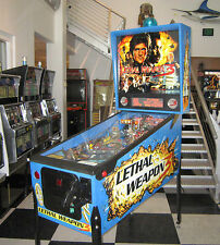 LETHAL WEAPON 3 PINBALL MACHINE ~ LED UPGRADED ~ SHOPPED! ~ $199 SHIPPING