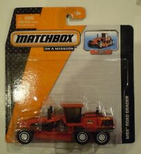 MATCHBOX 2014 Real Working Rigs *MBX ROAD GRADER* red
