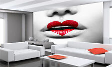 BEAUTY SEXY MODERN LIPS Wall Mural Photo Wallpaper GIANT DECOR Paper Poster