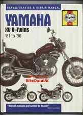 Yamaha Virago XV535 XV1100 (1981-1996) Haynes Manual XV 535 700 750 1000 1100