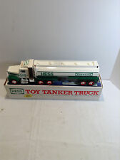 1990 Hess Toy Tanker Truck In Box FREE SHIPPING