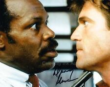 DANNY GLOVER as Det. Murtaugh - Lethal Weapon GENUINE AUTOGRAPH UACC (R8345)