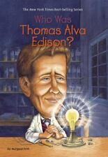 Who Was Thomas Alva Edison? by Margaret Frith (2005, Paperback)
