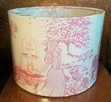 Brand new Disney Princess Toile lampshade Hand Crafted ceiling lightshade.