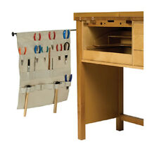 NEW BENCH APRON - ORGANIZE YOUR JEWELRY TOOLS - HANG FROM WALL OR DESK