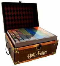 Harry Potter Hardcover Limited Edition Boxed Set All 7 Books Lockable Chest NEW