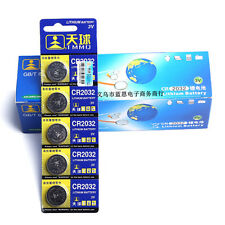 Top Brand 5X Genuine CR2032 DL2032 LM2032 3V Lithium Button Coin Cells Batteries