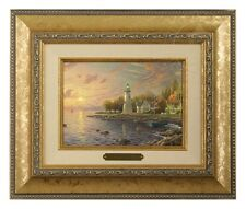 Thomas Kinkade Serenity Cove - Brushwork (Gold Frame)