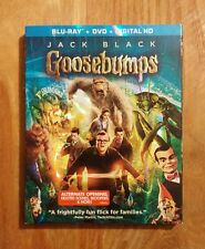 Goosebumps (2015) Brand New Blu-ray + DVD + Digital HD with SLIPCOVER Jack Black