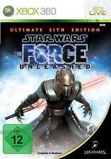 Microsoft XBOX 360 Spiel * Star Wars The Force Unleashed 1 Sith Edition *NEU*NEW
