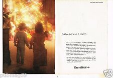 Publicité advertising 1980 (2 pages) Le magasin Carrefour