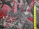 Haunted House Spooky Lady Grim Reaper Skeltons BY YARDS Alexander Henry Fabric