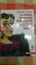 Barbero Frugoni Luzzatto Sclarandis - La Storia L'Impronta dell'Umanità 3 -Rossa
