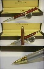 stilografica Jinhao Red electric fountain pen - Stylo Nib covercrown Siz. F