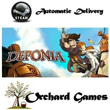 Deponia: Pc Mac Linux: (steam/digital) automático de entrega