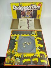 Vintage - Dungeon Dice Board Game Parker Brothers 1977 - 100% Complete