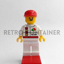LEGO Minifigures - Driver - oct024 - Pilota Octan Race Omino Minifig Set 1821