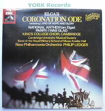 ASD 3345 - ELGAR - Coronation Ode LEDGER New Philharmonia Orch - Ex LP Record