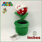 Super Mario Bros Plush Piranha Plant Soft Toy Nintendo Stuffed Animal Doll 8IN