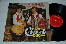 LP/ORIGINAL EDELWEIß DUO/MUSIK HUMOR UND GUTE LAUNE/Polydor 2486688/NEAR MINT
