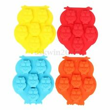 Mini Owl Silica Gel Silicone Mold Soap Cake Candy Chocolate Bread Baking Mould