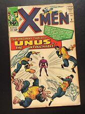 The X-Men #8 - Unus the Untoucable! Uncanny Marvel Nice Copy