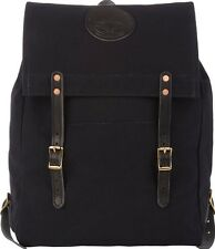 NWT $295 Yuketen Canoe Backpack - Leather Trimmed Canvas - Black