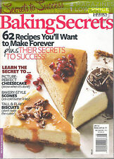 NEW LOT 2 in 1 bh&g BAKING SECRETS 62 Recipes DIY Cheesecake + 100 BEST COOKIES