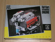 1/8 Scale Kit Pocher Rivarossi Ferrari Testarossa Engine KM/51 Complete New !!