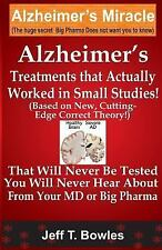 Alzheimer's Treatments  That Actually Worked  In Small Studies!  (Based On New,
