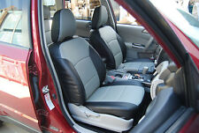 SUBARU FORESTER 2014- IGGEE S.LEATHER CUSTOM FIT SEAT COVER 13COLORS AVAILABLE