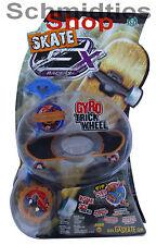 GX Skate Racers Gyro Trick Wheel Skateboard - Modell 01 (Blau)