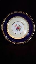 "Aynsley ""Hatfield"" Cobalt Blue Dinner Plate, 8 available"