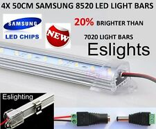 4X 50CM 12V 8520 LED STRIP LIGHT BAR CARAVAN 4WD CAMPING BOAT TENT FISHING NEW
