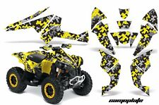 AMR Racing CanAm Renegade500/800/1000 Graphic Kit Wrap Quad Decal ATV All CPLT Y