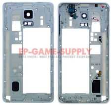 Housing Bezel Frame Assembly For Samsung Galaxy Note 4 N910A N910T N910F White