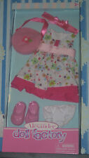"Madame Alexander Floral Dress Outfit For 18"" Doll NIB"