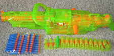 NERF VULCAN SONIC EBF-25 PULSE RIFLE CHAIN GUN 8 FEET, Belt, 25 BULLETS COOL