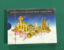 Singapore Airlines 3 times a week to Barcelona Spain playing cards sealed deck !