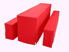 Exklusives Hussen Set für 80cm Festzeltgarnitur, Farbe ROT, Super  Stoffqualität