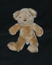 Peluche Doudou Ours The Teddy Bear Collection Brun Marron 21 Cm Etat NEUF