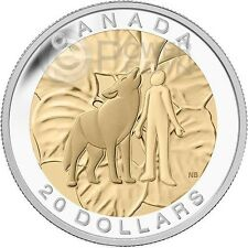 HUMILITY Wolf Seven Sacred Teachings First Nations Silver Coin 20$ Canada 2014