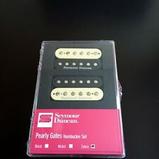 Seymour Duncan Pearly Gates Zebra Set  11108-49-z