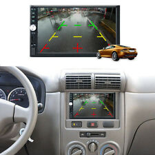 "7"" 2DIN Autoradio NAVI Bluetooth Touch Screen DVD MP3 Player USB AUX ~~"
