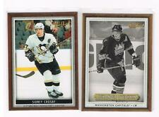 Alexander Ovechkin 2006-07 (CAPITALS) Beehive Wood #1 and SIDNEY CROSBY # 19