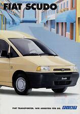 Prospetto FIAT SCUDO 12/95 1995 8 pag. AUTO prospetto opuscolo auto PKW brosjyre