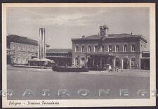 BOLOGNA CITTÀ 207 STAZIONE FERROVIARIA - FONTANA Cartolina 1942