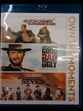 Butch Cassidy & Sundance Kid/Good,Bad,Ugly/Magnificent Seven (3-Blu-ray set)