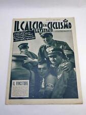 IL CALCIO E IL CICLISMO ILLUSTRATO 33 1953 Fausto Coppi vintage cycling